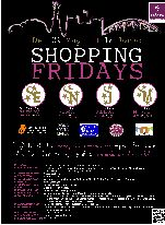 Cartel de la Shopping Fridays